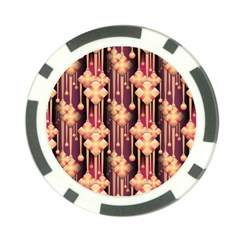 Illustrations Seamless Pattern Poker Chip Card Guard