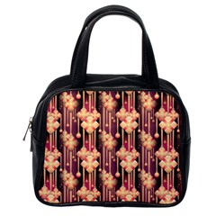 Illustrations Seamless Pattern Classic Handbag (One Side)