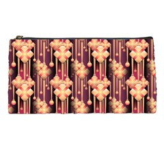 Illustrations Seamless Pattern Pencil Cases