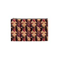 Illustrations Seamless Pattern Cosmetic Bag (Small)