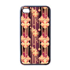 Illustrations Seamless Pattern iPhone 4 Case (Black)