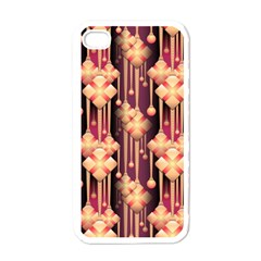 Illustrations Seamless Pattern iPhone 4 Case (White)