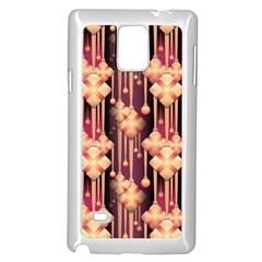 Illustrations Seamless Pattern Samsung Galaxy Note 4 Case (White)