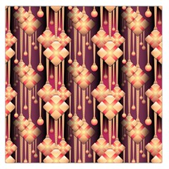 Illustrations Seamless Pattern Large Satin Scarf (Square)