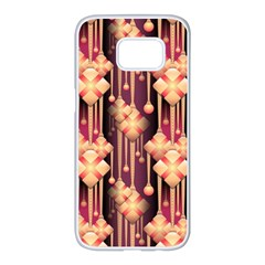 Illustrations Seamless Pattern Samsung Galaxy S7 edge White Seamless Case