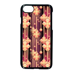 Illustrations Seamless Pattern iPhone 7 Seamless Case (Black)