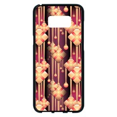 Illustrations Seamless Pattern Samsung Galaxy S8 Plus Black Seamless Case