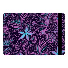 Stamping Pattern Leaves Drawing Apple Ipad Pro 10 5   Flip Case