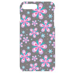 Seamless Pattern Flowers Pink Iphone 7/8 Plus Black Uv Print Case by Pakrebo