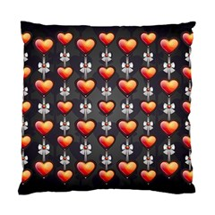 Love Heart Background Standard Cushion Case (one Side)
