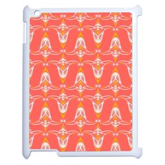 Seamless Pattern Background Apple Ipad 2 Case (white)