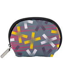 Background Abstract Non Seamless Accessory Pouch (small)