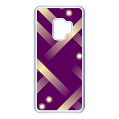 Background Non Seamless Pattern Samsung Galaxy S9 Seamless Case(white)