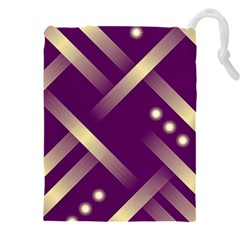 Background Non Seamless Pattern Drawstring Pouch (xxxl)