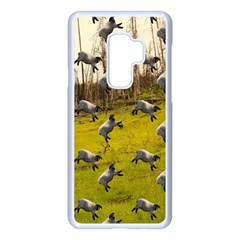 Flying Sheep Samsung Galaxy S9 Plus Seamless Case(white)