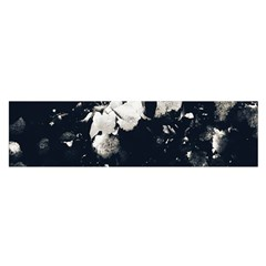High Contrast Black And White Snowballs Ii Satin Scarf (oblong) by okhismakingart