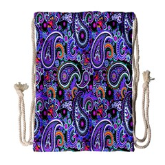 Paisley 2 Drawstring Bag (large)