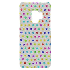 Social Disease - Polka Dot Design Samsung S9 Black Uv Print Case