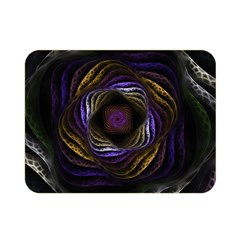 Fractal Abstract Fractal Art Double Sided Flano Blanket (mini)