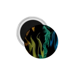 Smoke Rainbow Colors Colorful Fire 1 75  Magnets