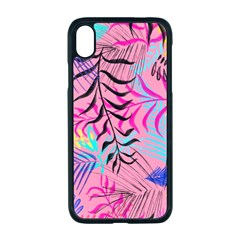Leaves Iphone Xr Seamless Case (black) by Sobalvarro