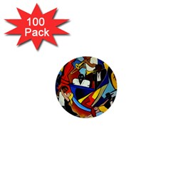 Colores Salsa  1  Mini Buttons (100 Pack)