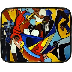 Colores Salsa  Fleece Blanket (mini) by valvescovi