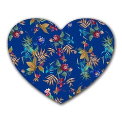 Tropical Paradise Heart Mousepads by tarastyle