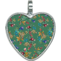 Tropical Paradise Heart Necklace by tarastyle