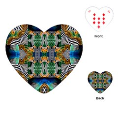Tropical Paradise Playing Cards Single Design (heart) by tarastyle