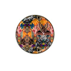 Tropical Paradise Hat Clip Ball Marker (4 Pack) by tarastyle