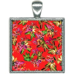 Tropical Paradise Square Necklace by tarastyle