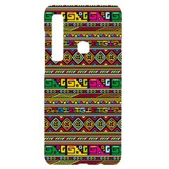 Traditional Africa Border Wallpaper Pattern Colored Samsung Case Others by EDDArt