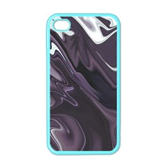 Purple Marble Digital Abstract Iphone 4 Case (color) by Pakrebo