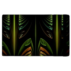 Fractal Texture Pattern Flame Apple Ipad 3/4 Flip Case by Pakrebo