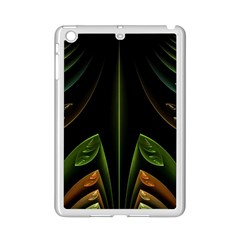 Fractal Texture Pattern Flame Ipad Mini 2 Enamel Coated Cases by Pakrebo