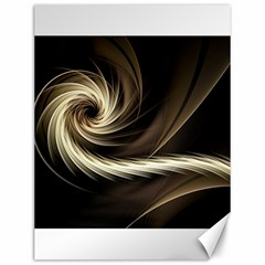Fractal Background Pattern Curve Canvas 12  X 16