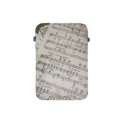 Sheet Music Paper Notes Antique Apple Ipad Mini Protective Soft Cases