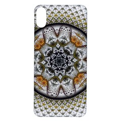 Medallion Fractal Digital Art Iphone X/xs Soft Bumper Uv Case