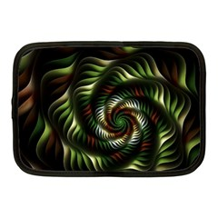 Fractal Christmas Colors Christmas Netbook Case (medium)