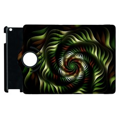 Fractal Christmas Colors Christmas Apple Ipad 2 Flip 360 Case