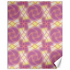 Colorful Abstract Pattern Canvas 11  X 14  by tarastyle