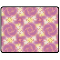Colorful Abstract Pattern Fleece Blanket (medium)  by tarastyle