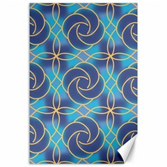 Colorful Abstract Pattern Canvas 24  X 36  by tarastyle