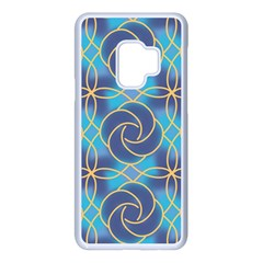 Colorful Abstract Pattern Samsung Galaxy S9 Seamless Case(white) by tarastyle