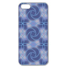 Colorful Abstract Pattern Apple Seamless Iphone 5 Case (clear) by tarastyle
