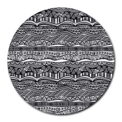 Scribbles Round Mousepads