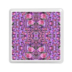 World Wide Blooming Flowers In Colors Beautiful Memory Card Reader (square) by pepitasart