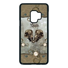 Awesome Mechanical Skull Samsung Galaxy S9 Seamless Case(black)