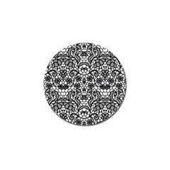 Lace Seamless Pattern With Flowers Golf Ball Marker (10 Pack) by Sobalvarro